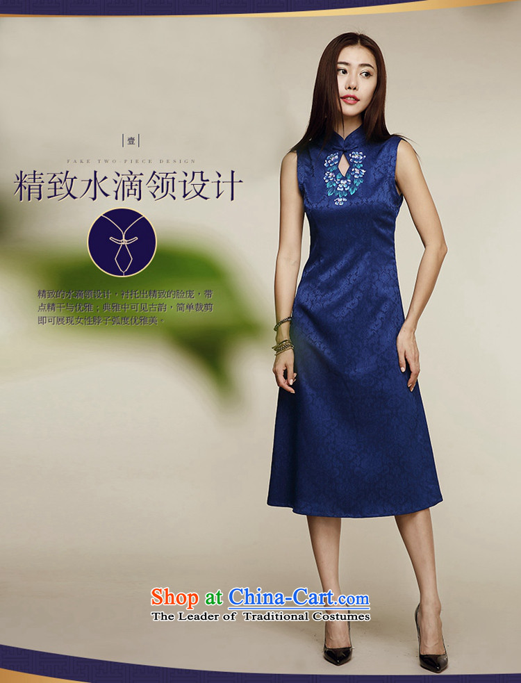 No. Tang Ramadan porcelain cheongsam dress summer new ethnic retro women's sleeveless dresses picture color聽S picture, prices, brand platters! The elections are supplied in the national character of distribution, so action, buy now enjoy more preferential! As soon as possible.