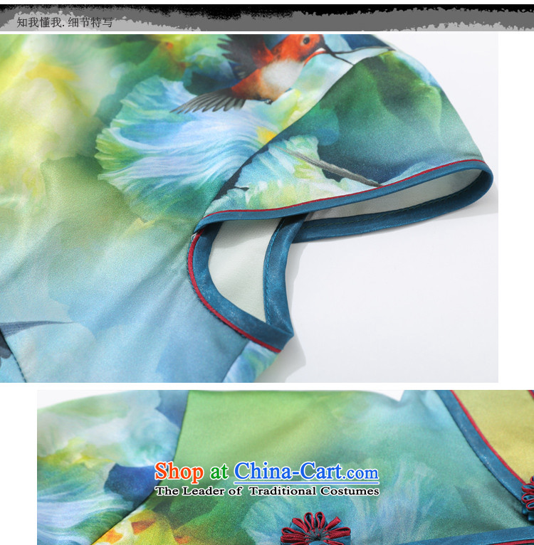 Joe was aristocratic Chinese cheongsam dress long heavyweight silk republic of korea women CKZS008 wind green聽L picture, prices, brand platters! The elections are supplied in the national character of distribution, so action, buy now enjoy more preferential! As soon as possible.