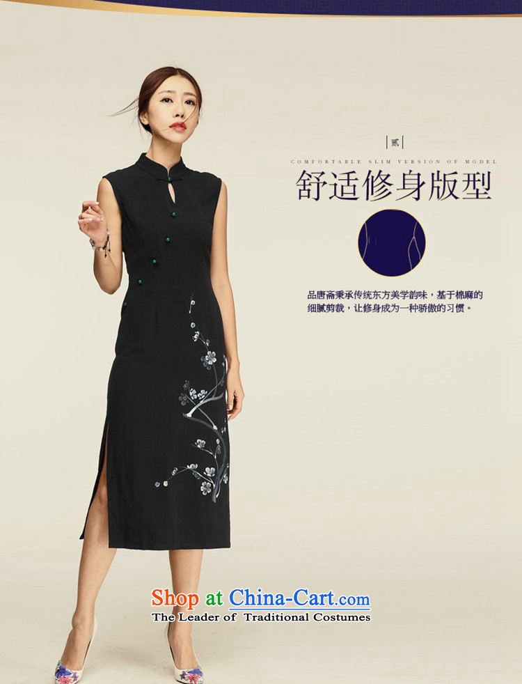 No. of Ramadan cheongsam dress Tang聽2015 Summer new retro women's dresses Black聽XL Photo, prices, brand platters! The elections are supplied in the national character of distribution, so action, buy now enjoy more preferential! As soon as possible.