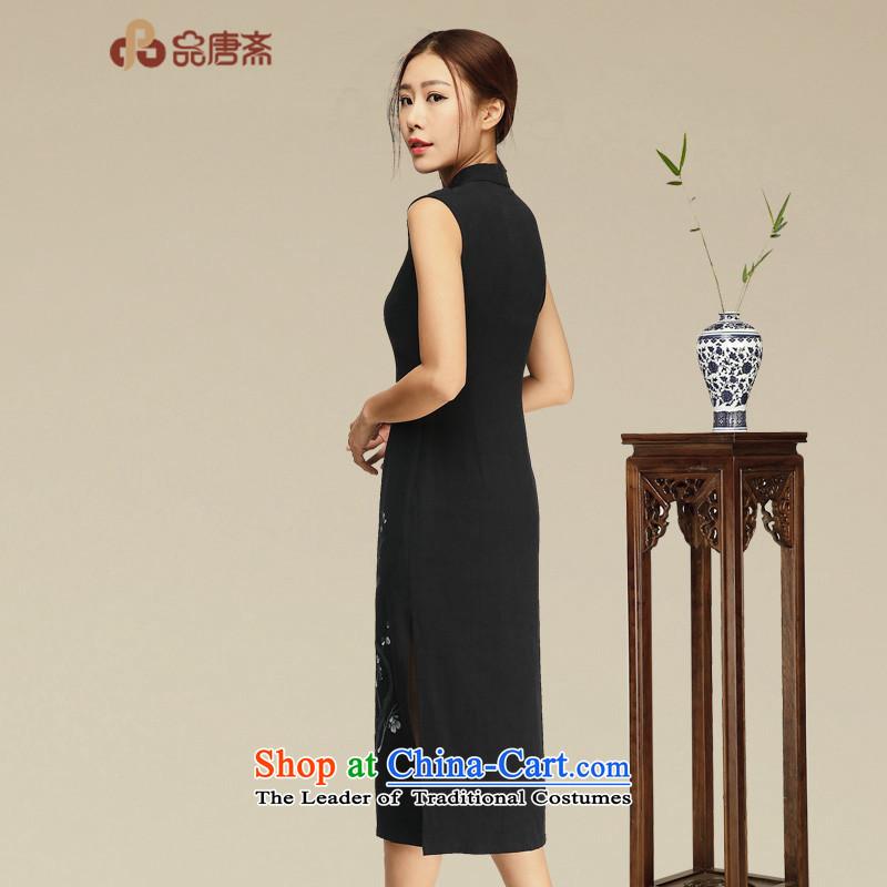 No. of Ramadan cheongsam dress Tang聽2015 Summer new retro women's dresses Black聽XL, Tang Ramadan , , , No. shopping on the Internet