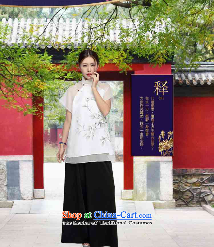 No. 2015, Tang Dynasty Ramadan Tang Summer China wind women improved Han-short-sleeved T-shirt color pictures qipao XL Photo, prices, brand platters! The elections are supplied in the national character of distribution, so action, buy now enjoy more preferential! As soon as possible.