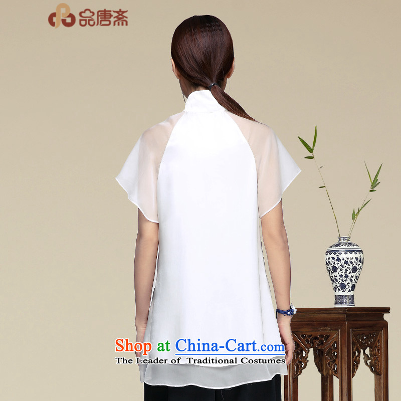 No. 2015, Tang Dynasty Ramadan Tang Summer China wind women improved Han-short-sleeved T-shirt color pictures qipao XL, Tang Ramadan , , , No. shopping on the Internet