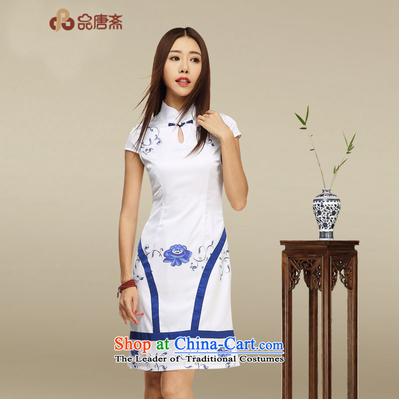 No. of Ramadan 2015 Summer Tang New Chinese improved cheongsam dress photo color?S