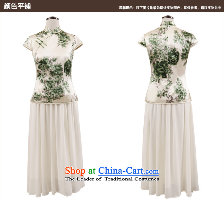Love of birds migratory sent the NEW Summer 2015 Han-heavyweight Silk Cheongsam blouse Tang dynasty retro QD767 female figure M picture, prices, brand platters! The elections are supplied in the national character of distribution, so action, buy now enjoy more preferential! As soon as possible.