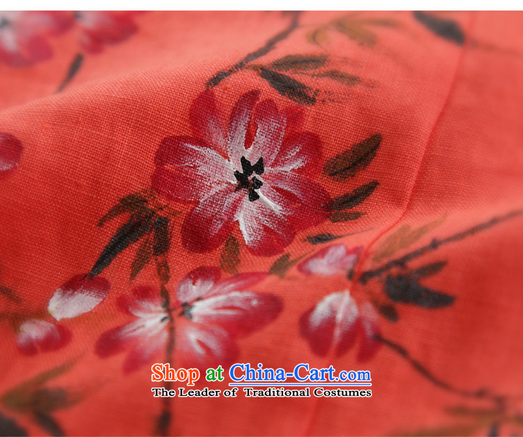 The Peach Blossom oriole ink 2015 Original loose cotton linen flax female fall inside the literary van cotton linen ethnic red-orange red M picture, prices, brand platters! The elections are supplied in the national character of distribution, so action, buy now enjoy more preferential! As soon as possible.
