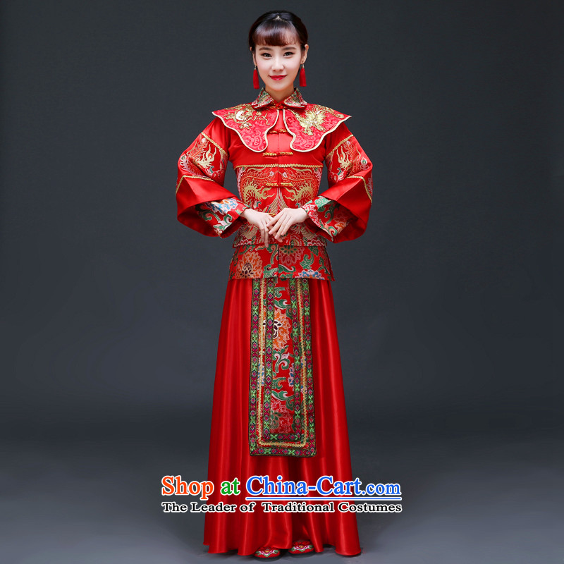 The Royal Advisory Groups to show love of nostalgia for the Chinese Soo Wo Service bridal dresses and Phoenix use marriage services-hi-costume bows wedding dress Chinese wedding�8 Sau Wo燤 of brassieres 98
