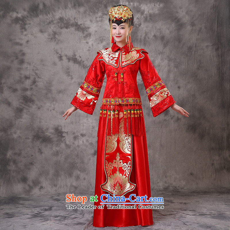 The Royal Advisory services wo-soo land use hi-Dragon Chinese qipao gown marriage bows dress retro wedding costume wedding dresses and Phoenix use Bong-sam Hui-hsia macrame Soo-reel previous Popes are placed?M of brassieres 98