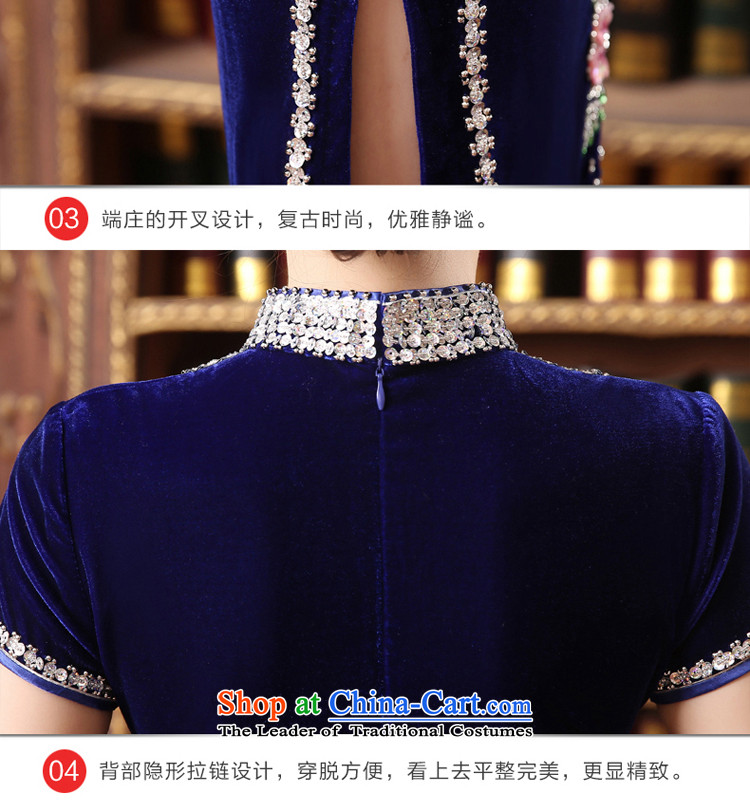 Wedding wedding dress qipao skirt Kim scouring pads installed MOM dresses in long large 2015 new) Cuff wine red聽2XL Photo, prices, brand platters! The elections are supplied in the national character of distribution, so action, buy now enjoy more preferential! As soon as possible.