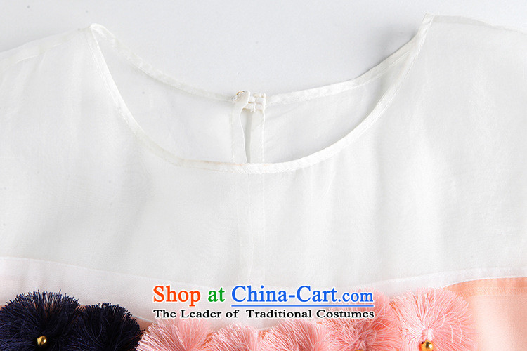 Vpro Y3812015 dress new summer only for women elegant short-sleeved T-shirt pearl nail T-shirt pink聽S picture, prices, brand platters! The elections are supplied in the national character of distribution, so action, buy now enjoy more preferential! As soon as possible.
