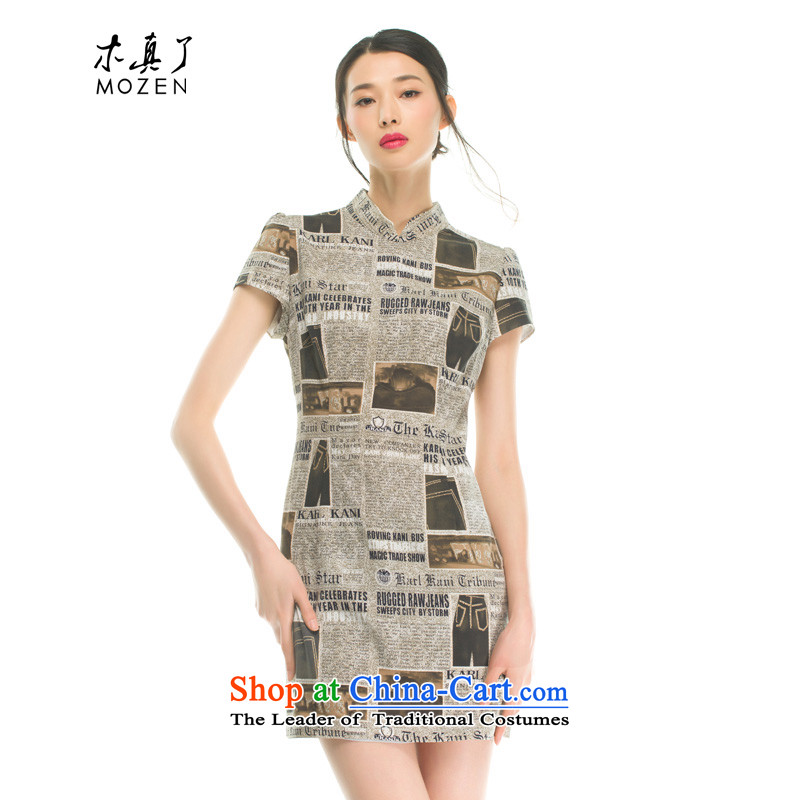 The women's true   Nostalgia retro stretch qipao Summer 2015 32355 new products 11 color聽XL