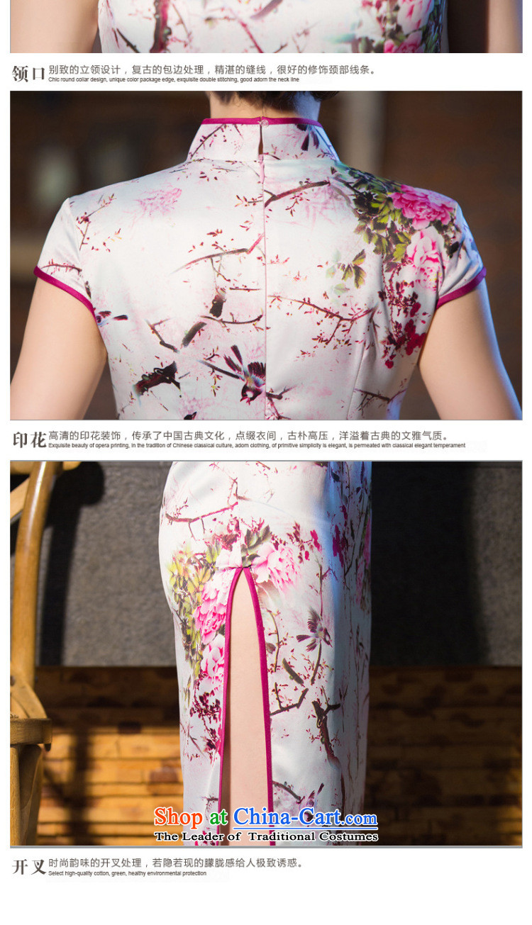 Dan smoke new cheongsam dress Chinese water droplets Mock-neck Ms. retro graphics thin improved long gown incense strive daily qipao聽S picture, prices, brand platters! The elections are supplied in the national character of distribution, so action, buy now enjoy more preferential! As soon as possible.