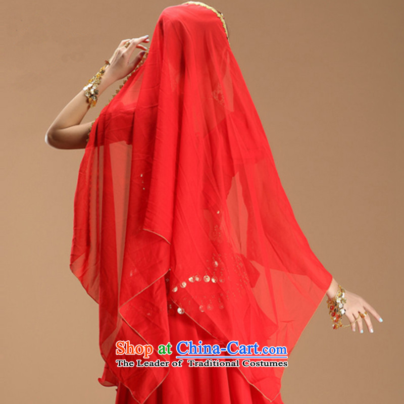 Energy Tifi Li Indian dance clothing will new belly dance ethnic costumes Red 8 piece set, energy tifi (mod) has been pressed, fil shopping on the Internet