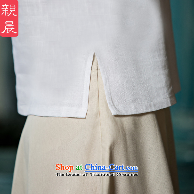 The pro-am pro-am daily new 2015 ethnic Han-short-sleeved T-shirt qipao improved cotton linen, Ms. Tang dynasty +P0011 skirts , T-shirt summer morning pro-shopping on the Internet has been pressed.