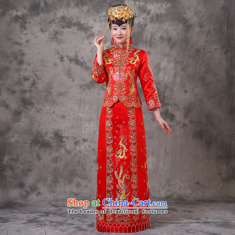 The Royal Advisory Groups to show friendly costume marriages qipao bows services use hi-long dragon of Chinese Dress retro wedding dress wedding Bong-Koon-hsia previous Popes are placed a + model clothes Head Ornaments M of brassieres 87
