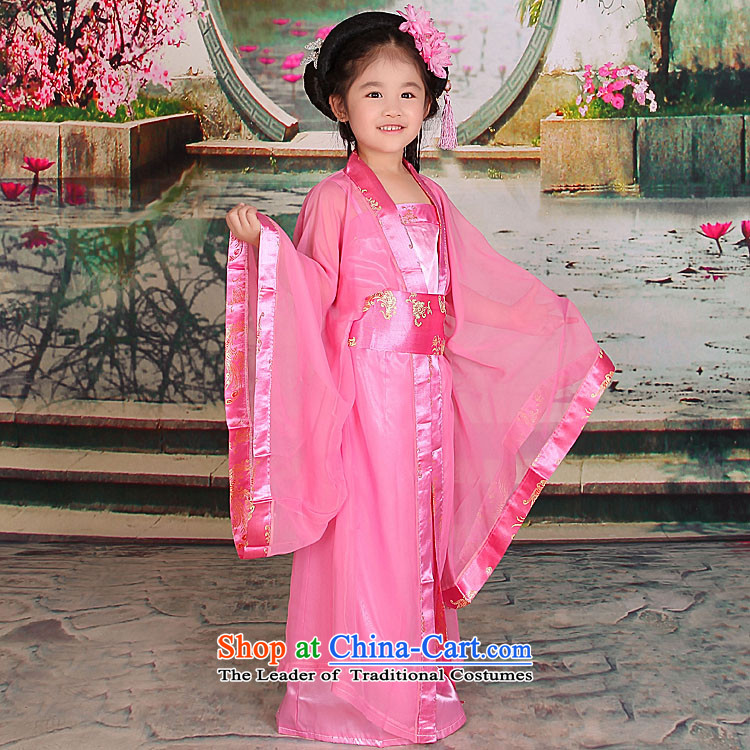 Time Syrian sweet small prey Li ancient clothing Princess Gwi-loaded girls costumes and Tang dynasty Han-floor, 7 children's wear skirts pink 150cm tall fairies recommendations appears at paragraphs 145-155, prices, brand image of Platters! The elections are supplied in the national character of distribution, so action, buy now enjoy more preferential! As soon as possible.