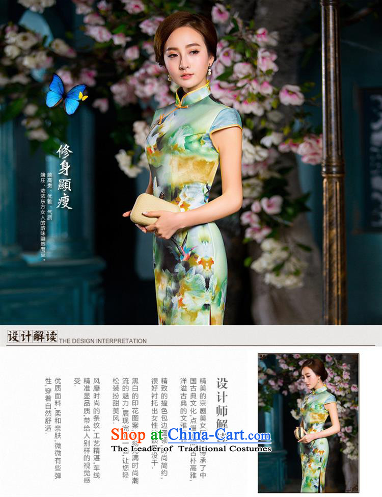 2015 New Long qipao retro sexy qipao dresses cheongsam dress photo colorM brand, prices, picture platters! The elections are supplied in the national character of distribution, so action, buy now enjoy more preferential! As soon as possible.