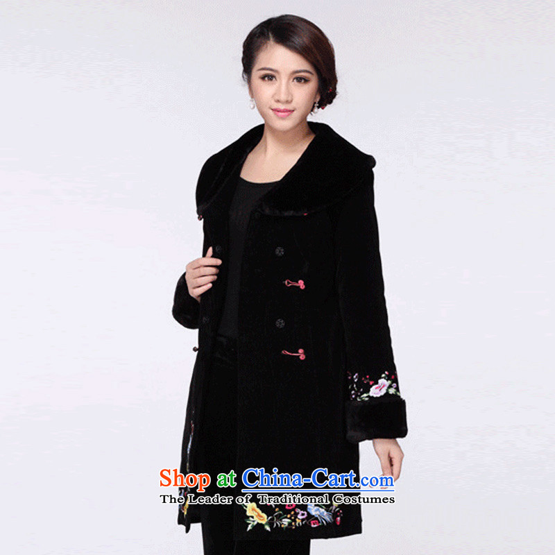 In line cloud qipao Tang dynasty China Wind Jacket RXA9110 cotton coat Black聽XL Photo, prices, brand platters! The elections are supplied in the national character of distribution, so action, buy now enjoy more preferential! As soon as possible.