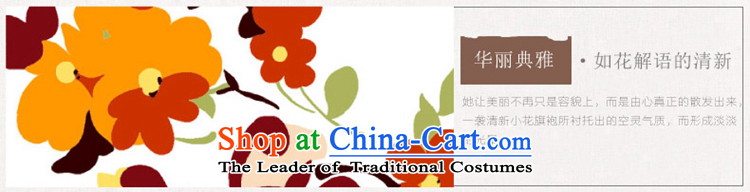 Yuan of 2015 summer flowers to stylish cheongsam dress cotton linen arts improved retro look qipao cheongsam dress YS RED XXL picture, prices, brand platters! The elections are supplied in the national character of distribution, so action, buy now enjoy more preferential! As soon as possible.