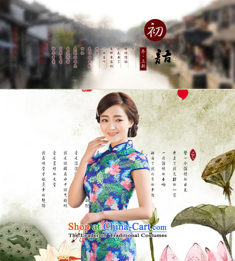Summer daily dresses retro elegance cheongsam dress Sau San video thin short stylish qipao figure聽XXL picture, prices, brand platters! The elections are supplied in the national character of distribution, so action, buy now enjoy more preferential! As soon as possible.
