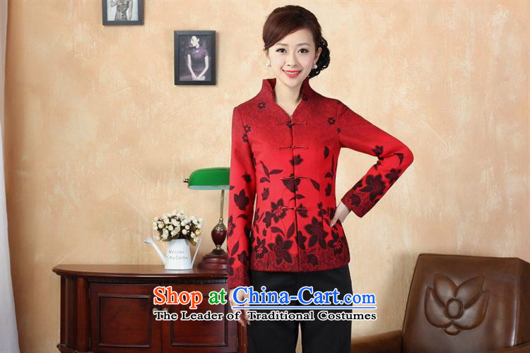 Tang dynasty qipao winter Tang Dynasty7redL picture, prices, brand platters! The elections are supplied in the national character of distribution, so action, buy now enjoy more preferential! As soon as possible.