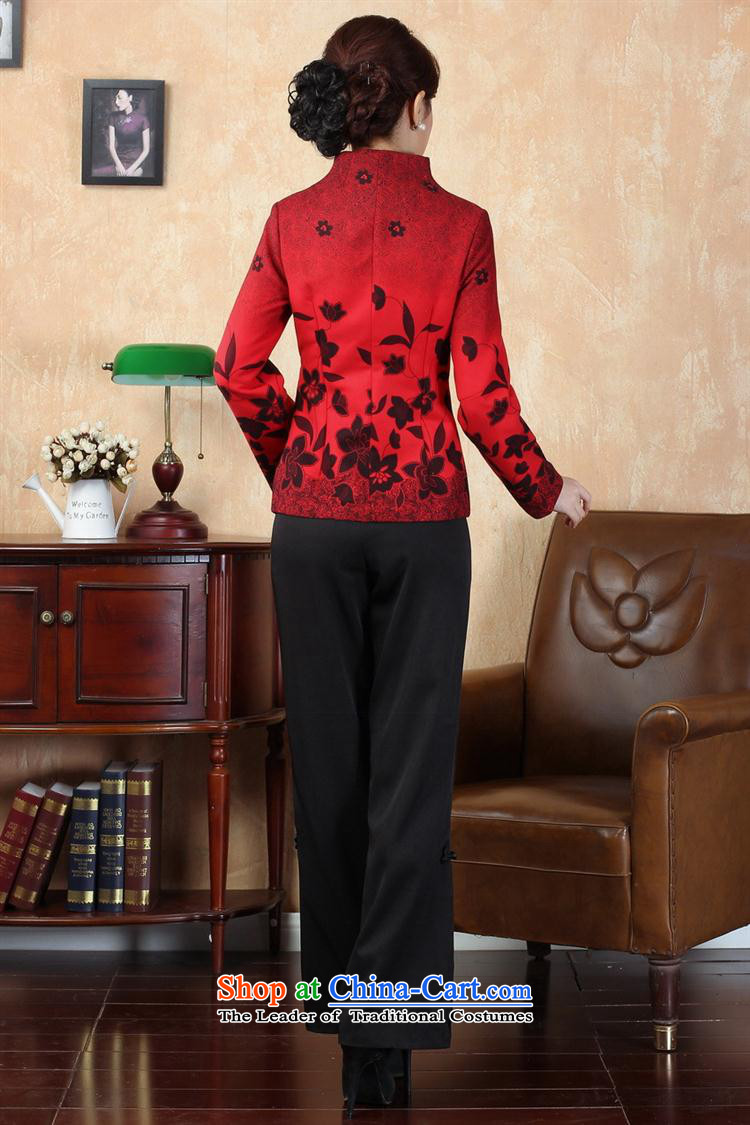 Tang dynasty qipao winter Tang Dynasty 7 red L picture, prices, brand platters! The elections are supplied in the national character of distribution, so action, buy now enjoy more preferential! As soon as possible.