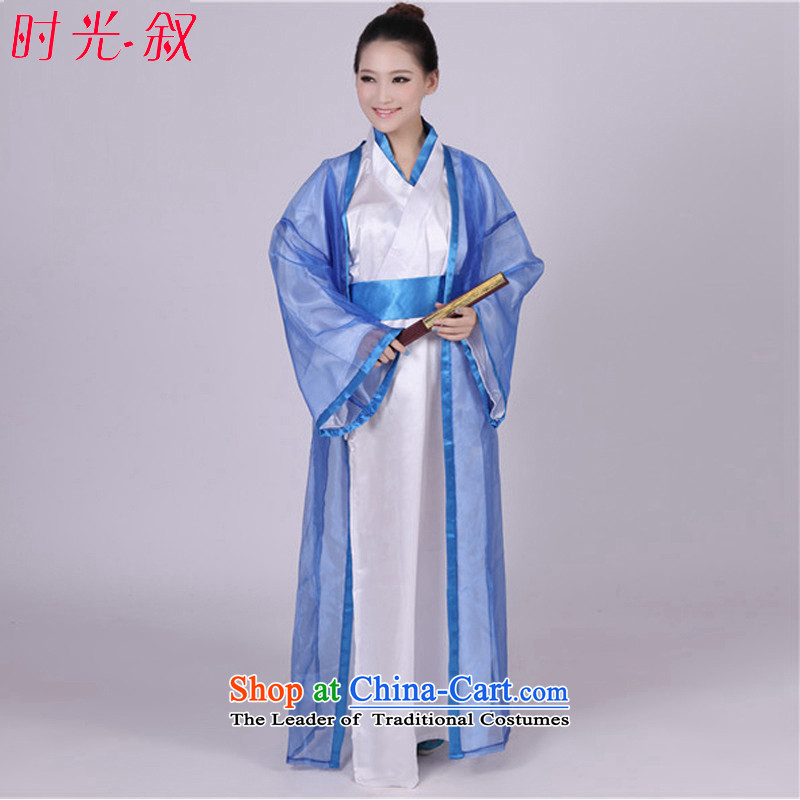 Time Syrian fairies Classics Videos ancient scholar classical princess clothing with cos photo album will affect women are suitable for 160-175cm code