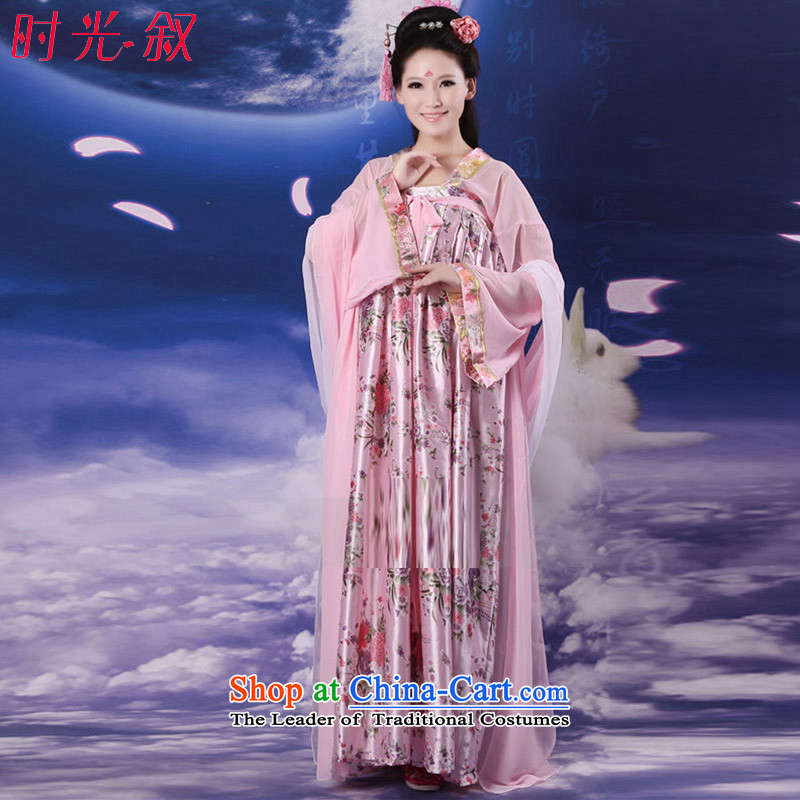 Time Syrian costume fairies Mr CHEUNG Hon-Tang dynasty princess you can multi-select attributes by using skirt skirt Gwi-parent-child Women's clothes chest you can multi-select attributes by using Top Loin of skirt large floor skirt theme photo album will