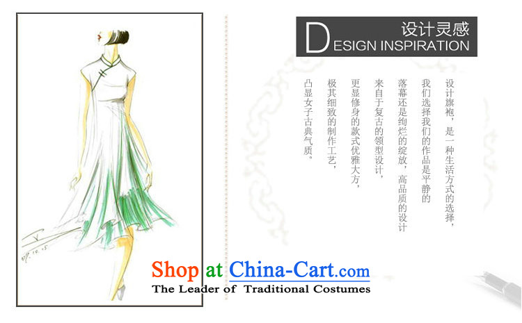 Dan smoke new retro long qipao Chinese water droplets Mock-neck Sau San stamp improved version of long cheongsam dress suit figure color聽M brand, prices, picture platters! The elections are supplied in the national character of distribution, so action, buy now enjoy more preferential! As soon as possible.