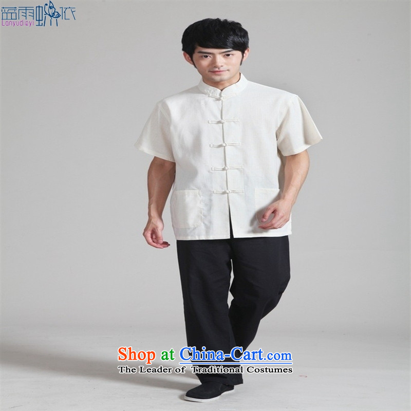 Kit Tang�-0820-4- blouses. national costumes menswear, Casual wear black trousers workwear kit燲XXL