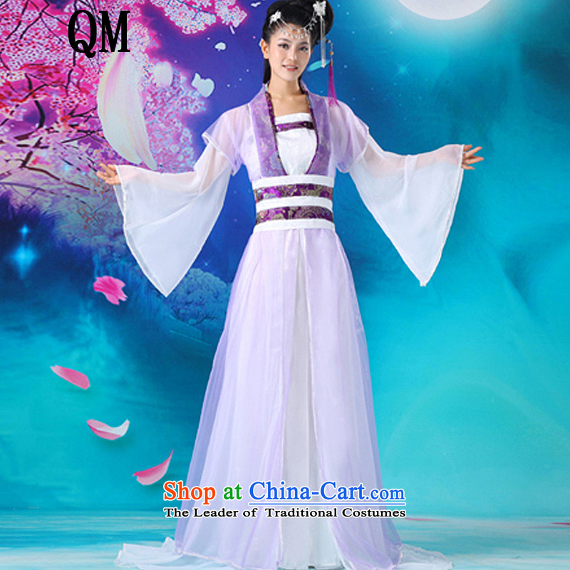 At the end of Light Classical Han-Tang Dynasty to han-floor dance wearing uniforms�CX9 Gwi-�purple are code