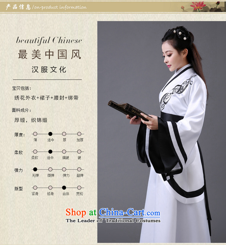 Time Syrian costume clothing Han-Han dynasty Clothing Song female comedies were deeply Yi Han-Women's improved Han-fairies skirt embroidery red black dress code for both floor 160-175cm picture, prices, brand platters! The elections are supplied in the national character of distribution, so action, buy now enjoy more preferential! As soon as possible.