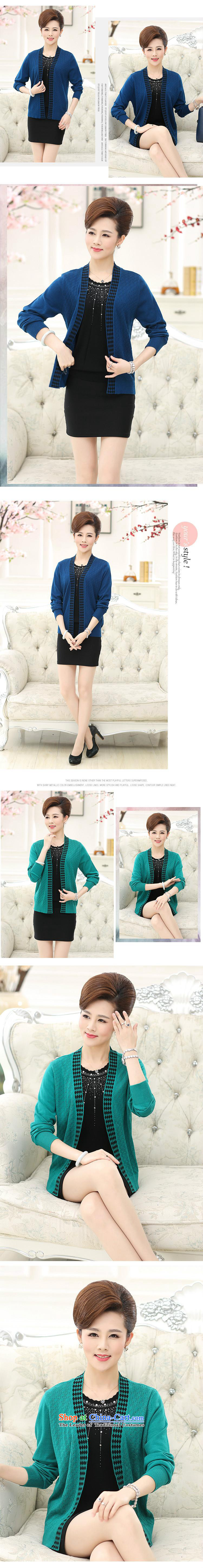 Orange Tysan * autumn new) Older women's stylish middle-aged moms with really two long-sleeved jacket Knitted Shirt female Green聽120 pictures, prices, brand platters! The elections are supplied in the national character of distribution, so action, buy now enjoy more preferential! As soon as possible.