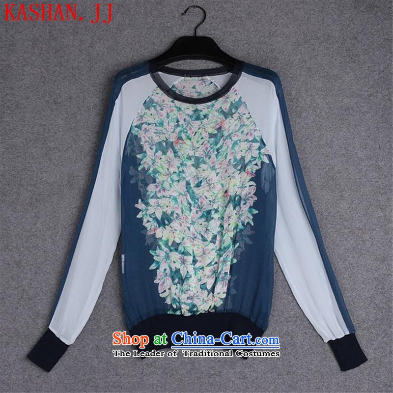 牋The European site autumn 37A853 new for women with silk shirt color picture stamp燤