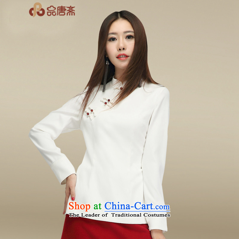 No. of Ramadan 2015 Autumn Load Tang new ethnic retro long-sleeved Chinese clothing improvements Sau San qipao shirt color picture?XL