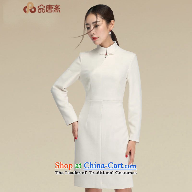 No. of Ramadan improved cheongsam dress Tang early autumn 2015 new products Chinese shirt, qipao dresses picture color M