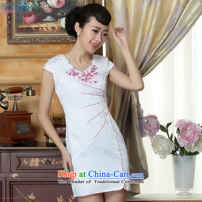 Spring outfits and stylish qipao dresses and elegant reminiscent of the daily qipao THM0066 Ms. Sau San M