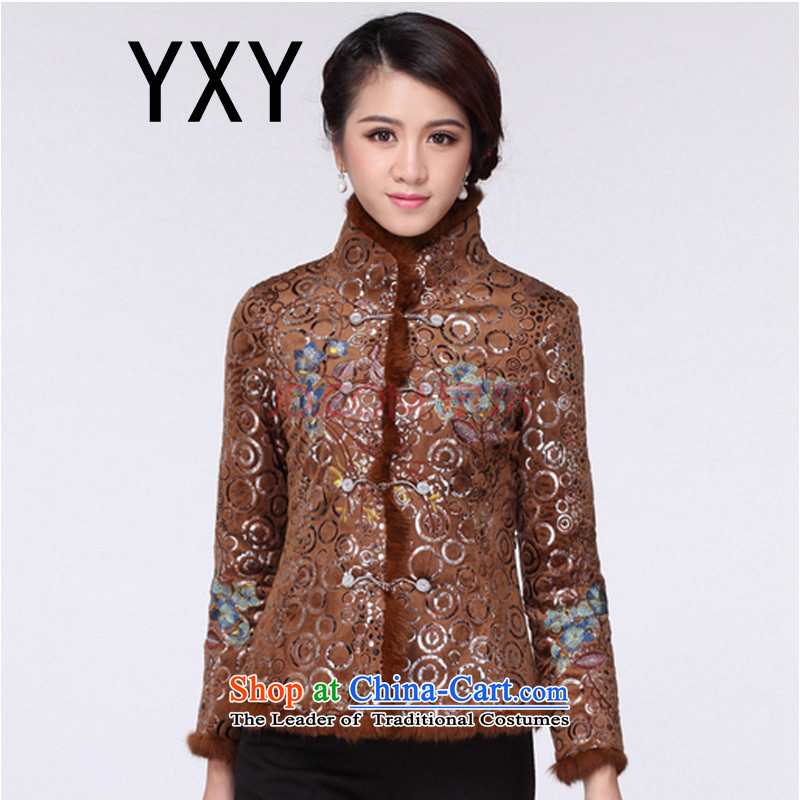 In line the elderly in the cheongsam cloud Tang dynasty ?t��a RX9090 BROWN?L