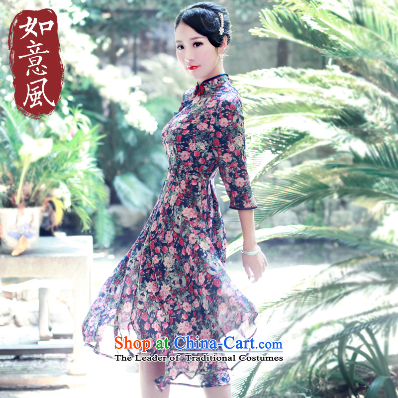 After a day of wind loading of ethnic autumn 2015 retro stamp chiffon dresses in China Culture Summer quality long-sleeved blouses qipao PRELIMINARY SUGGESTIONS FOR ITEMS FOR DISCUSSION .. PRELIMINARY SUGGESTIONS FOR ITEMS FOR DISCUSSION .. Pre-sale M sui
