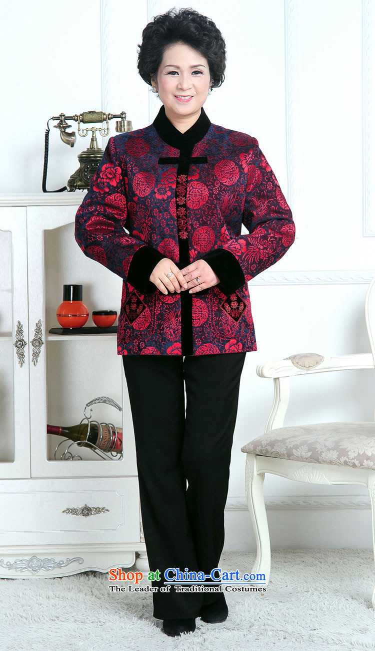 70-year-old women aged 80 15 fall jacket, older persons T-shirt with winter jackets mother Grandma Tang Dynasty hailed the picture color聽pictures, prices, XL brand platters! The elections are supplied in the national character of distribution, so action, buy now enjoy more preferential! As soon as possible.