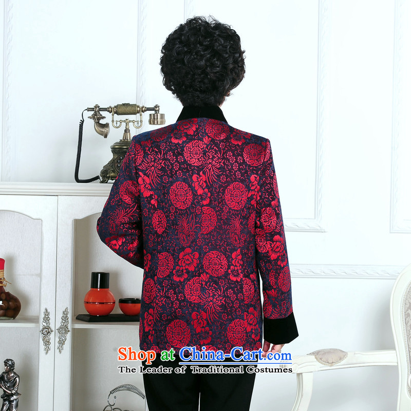 70-year-old women aged 80 15 fall jacket, older persons T-shirt with winter jackets mother Grandma Tang Dynasty hailed the picture color聽XL,RUILIBEIKA,,, shopping on the Internet