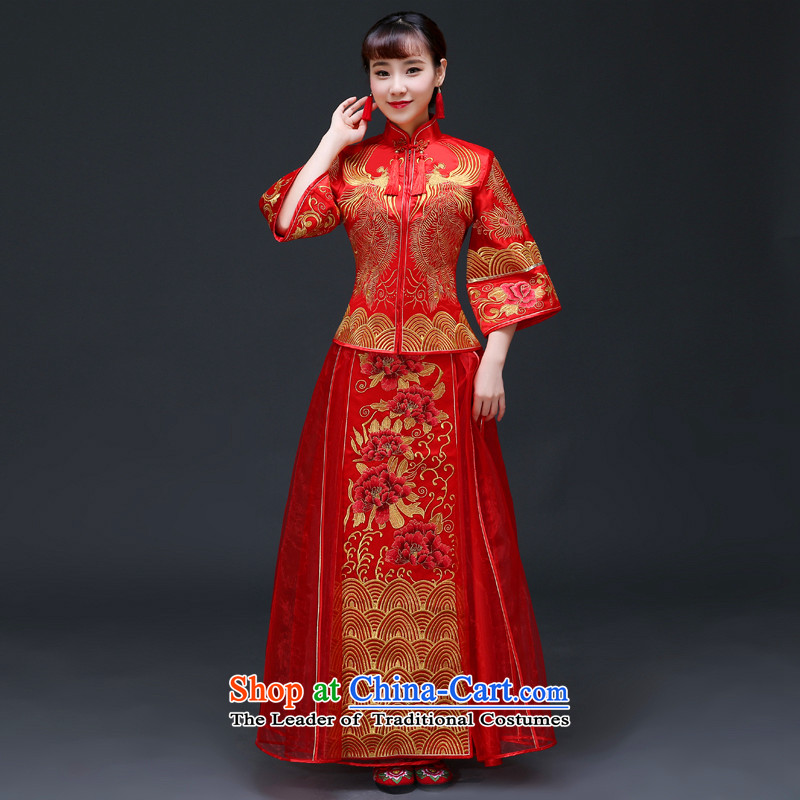 The Royal Advisory Groups to show friendly new bride Chinese Dress Chinese Classics Hei services serving drink qipao and Phoenix use the wedding dress Chinese wedding Bong-Koon-hsia previous Popes are placed a?L of clothes chest 92