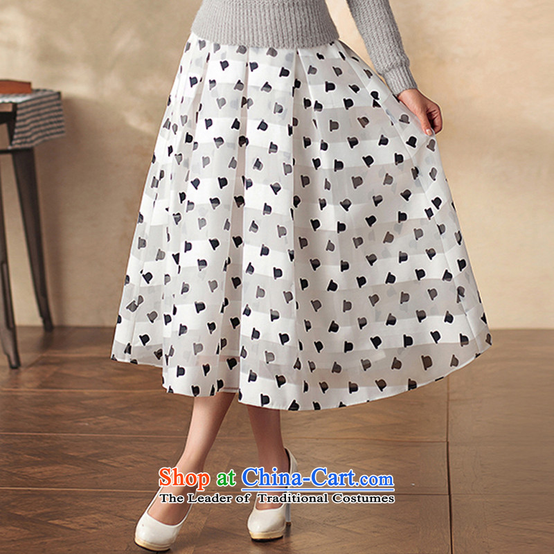 A Pinwheel Without Wind Yat Van Gogh in Yat long skirt retro qipao body of ethnic arts video New Sau San thin body long skirt white聽L, Yat Lady , , , shopping on the Internet