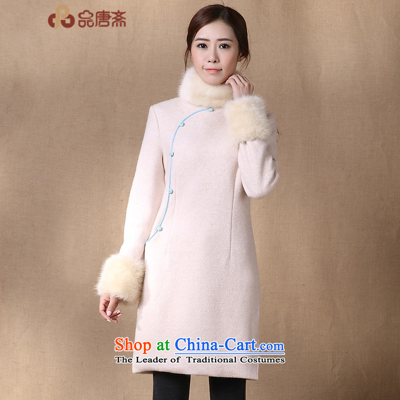 No. of Ramadan 2015 New Tang female woolen?   in gross thick long coats female Jacket Color Picture?XL