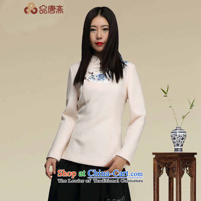 No. of Ramadan 2015 Autumn Load Tang New China wind retro improved Tang dynasty female Long-sleeve map color聽M