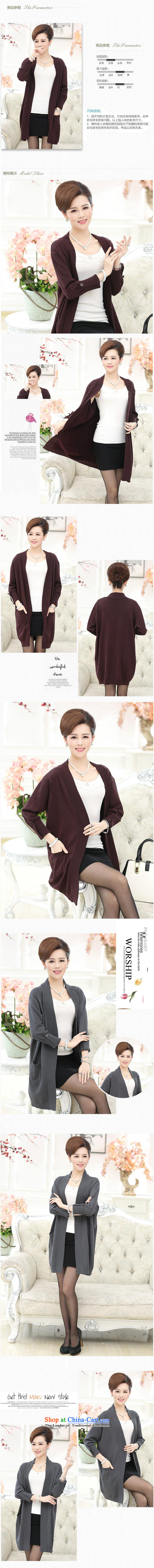 Ya-ting shop in older women's new knitted shirts Korea Fall edition in mom long knitting cardigan large long-sleeved sweater chestnut horses are code picture, prices, brand platters! The elections are supplied in the national character of distribution, so action, buy now enjoy more preferential! As soon as possible.
