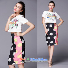 Ya-ting shop European station 2015 Autumn new black women's spell checker, lace skirt Fashion Sau San wild dresses picture color聽M brand, prices, picture platters! The elections are supplied in the national character of distribution, so action, buy now enjoy more preferential! As soon as possible.