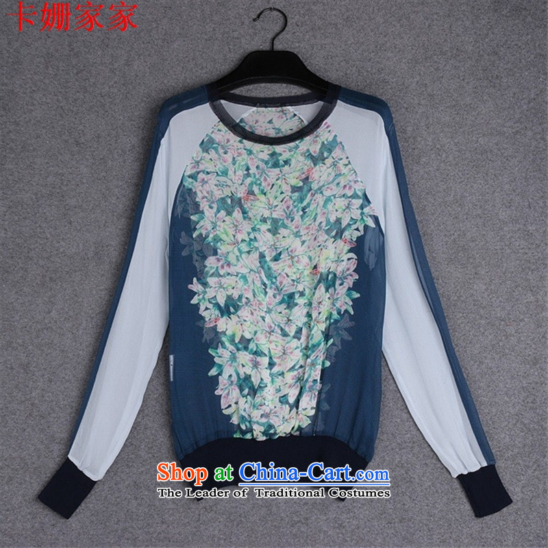 The European site autumn 37A853 new for women with silk shirt color picture stamp L