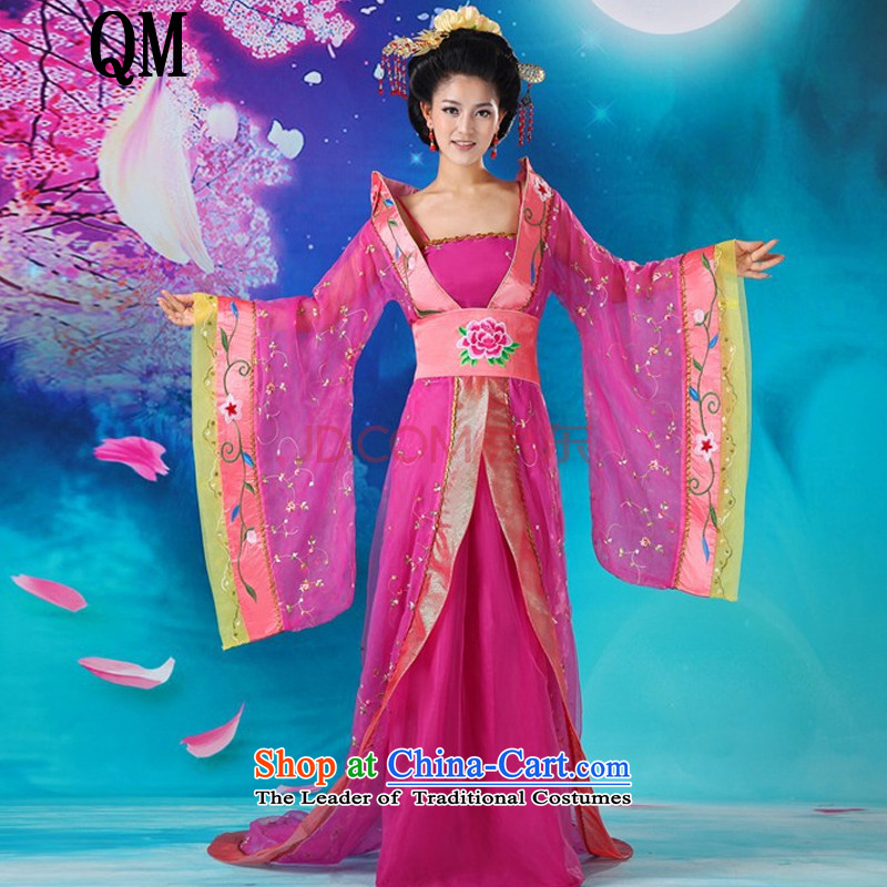 The end of the shallow�cosplay costume Han-han of the Tang dynasty Empress queen sleeper sofa clothing Wu�CX2 intrigues�of red are code