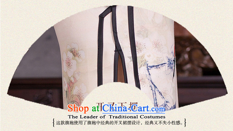 Mr Yuen Long qipao autumn whispers of replacing retro style qipao skirt New Sau San elegant qipao gownQD278 Ms.picture colorpictures, prices, XL brand platters! The elections are supplied in the national character of distribution, so action, buy now enjoy more preferential! As soon as possible.