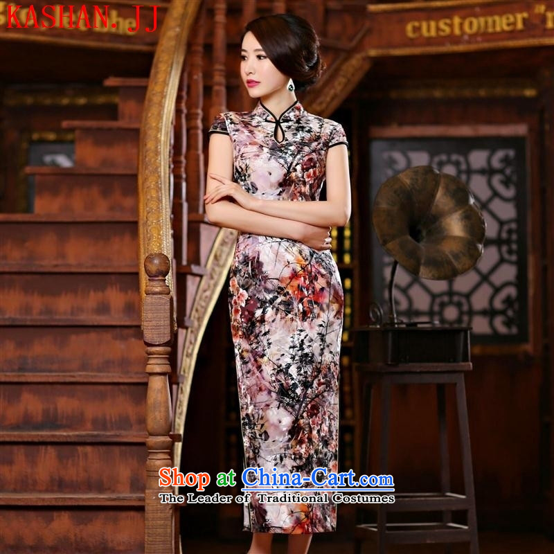 Mano-hwan's banquet style qipao improved bride cheongsam dress long day-to-day reception Sau San dress C of the XL